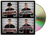 "Listen to ""Bros Playin Across"" CD release from GrePol M.af.i.a (Musical Affairs Internationally Active) featuring Theodosios Kosmidis in the electric guitar"