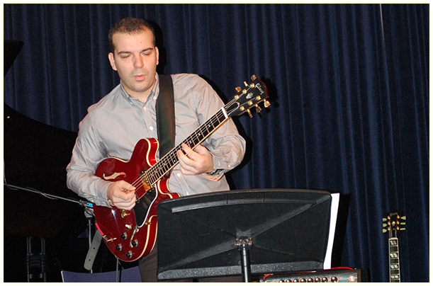 Theodosios Kosmidis > Electric guitar tutor - Electric guitar lessons & methods - Composer - Writer | Athens, Greece